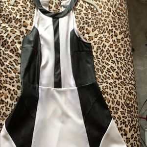 Black & White Guess Dress